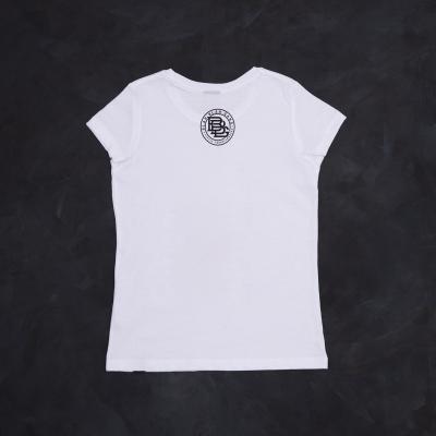 T-shirt white girl