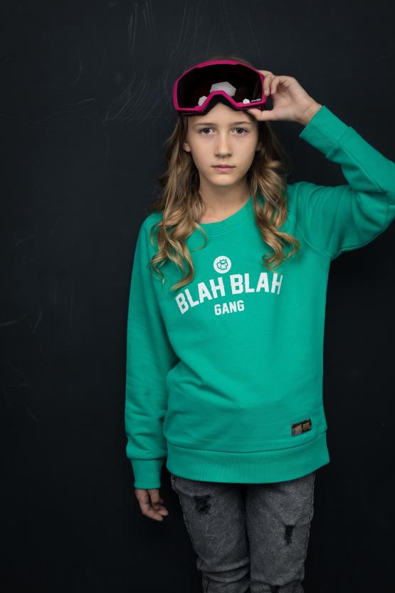 Bluza vivid green unisex