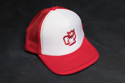 Trucker Hat Red - Unisex