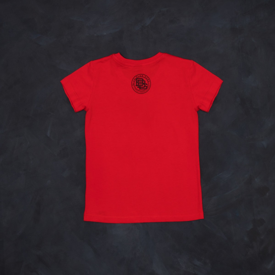 T-shirt red girl