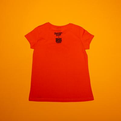 T-shirt Orange Summer