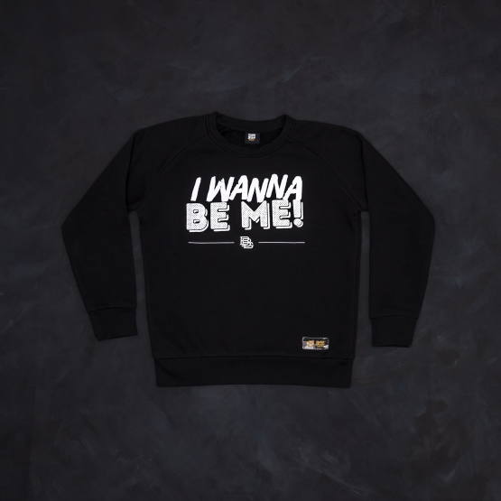 bluza black I wanna be me