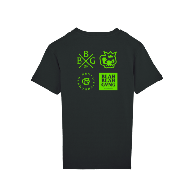 T-shirt Green Logos